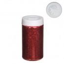 PVC mica coarse, 92gr. Box, red
